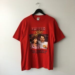 2004 Married With Children Graphic Tee RARE!
